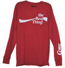 """Official Licensed Coke Coca-Cola """"the Real Thing!"""" Long Sleeve T-Shirt BNWT NEW $16.98  on eBay"""