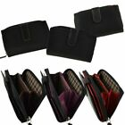 Ladies Medium Smooth Leather Zipped Purse/Wallet by Golunski; Zen Collection image