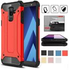 Shockproof Dual Layer Hybrid TPU Phone Case For Samsung Galaxy A6 A8 Plus 2018