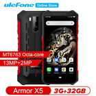 NEW Ulefone Armor X5 Rugged 4G Smartphone 5000mAh 3GB+32GB IP68 NFC Android 9.0