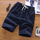 Men Beach Casual Shorts Athletic Gym Sports Training Jogger Short Pants 8754