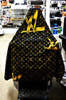 Barber & Salon Hair Cutting Cape Cover LV Design (Cape Only)