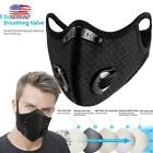 Outdoor Sports Cycling Mask Activated Carbon Haze Dustproof Riding Face Mask NEW