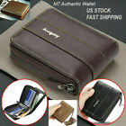 Kyпить Men Men's Leather Wallet ID Credit Card Holder Clutch Bifold Pocket Zipper Coin на еВаy.соm