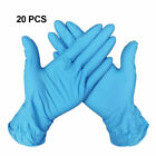 20Pcs Disposable Latex Gloves Nitrile Powder Free Cleaning Medical Cooking Glove