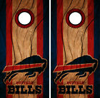 Buffalo Bills Cornhole Wrap NFL Decal Wood Vinyl Gameboard Skin Set YD335 $39.55 USD on eBay