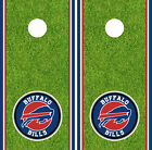 Buffalo Bills Cornhole Wrap NFL Decal Vinyl Gameboard Skin Set YD403 $39.55 USD on eBay