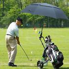 Black 68'' Golf Umbrella Oversize Automatic Open Extra Large Vented Canopy Stick