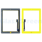 iPad 3rd 4th  Digitizer Touch Home Button Yellow Green