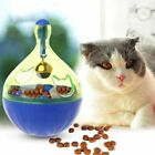 Dog Cat Food Tumbler Feeder Dispenser Bowl Bone Feeding Puppy Toy Leak Food Ball