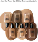 AVON True Power Stay Longwear Foundation, Concealer, Brush - Various Colours