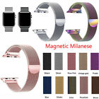 For Apple Watch Series 5/4/3/2/1 Watch Metal Band Strap Adjustable 38/40/42/44mm image