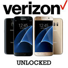 Samsung Galaxy S7 32GB SM-G930V (Verizon Unlocked) Black / Gold w/ Wall Charger