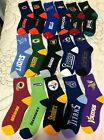 NFL TEAM FOR BARE FEET QUARTER STYLE SOCKS  MEN'S LARGE 10-13   CHOOSE YOUR TEAM $10.99 USD on eBay