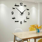 Stylish modern decoration 3D wall hanging wall clock (acrylic)