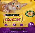 Go Cat 1+ Complete Dry Cat Food with Chicken and Duck 825g - 2kg and 4kg