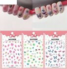 Women Art Manicure Back Glue Decal Fashion Patterns Nails Decorations Design