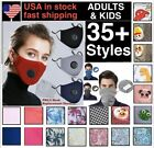Kyпить Cotton Face Mask  With  2 Filters Washable Reusable Activated Carbon respirator на еВаy.соm