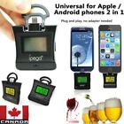 Alcohol Tester LCD Digital Breathalyzer Alcotester For iPhone Android Phone 2in1