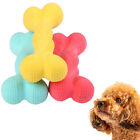 2Pcs Dog Scented Bone Shape Bite-resistant Teeth Care Puppy Play Chew Toy Eager