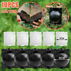 100pcs Plant Flower Pots Home Living Garden Nursery Seedlings Pot Container Bowl