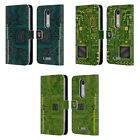 HEAD CASE DESIGNS CIRCUIT BOARDS LEATHER BOOK WALLET CASE FOR MOTOROLA PHONES 2