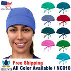 Maevn Unisex Doctor Nurse Solid Scrub Cap Head Cover Hat NC010
