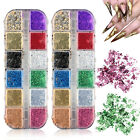 Nail Sequins Aluminum Irregular Flakes Nail Art Decoration Mirror Glitter Foil