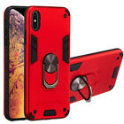 Armor Phone Case For Xiaomi Redmi Note 5 6 7 7T 8 Pro 7A Ring Bracket Shockproof