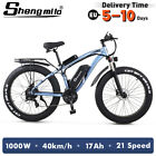 New Electric Bicycle 1000w 48v suvs Mountain ebike fat tire Electric Moped Adult <br/> Factory direct sale☑ Duty free☑ Tools gift☑ Oil brake☑