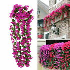 Artificial Fake Hanging Flowers Vine Plant Home Garden Decoration Indoor Outdoor