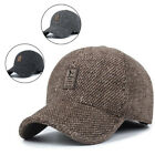 Men Sport Earflap Baseball Golf Cap Outdoor Hat Casual Warm Winter Vacation Gift