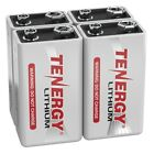 Tenergy 9V Lithium Battery 1200mAh L522 6LR61 1604LC UL - Bulk Lot Pricing