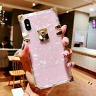 Luxury Square Slim Clear Trunk Case Back Cover For iPhone 11 Pro Max Xs Max X XR