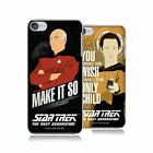 OFFICIAL STAR TREK ICONIC PHRASES TNG HARD BACK CASE FOR APPLE iPOD TOUCH MP3 on eBay