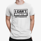 I Can't Breathe #Justice for George Floyd Unisex T-Shirt Fast Shpping