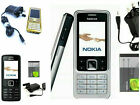 New Nokia 6300 Mobile Phone Unlocked 1yr Warranty - Black/silv/gold Uk Seller