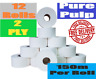 More images of Mini Jumbo 150m / 90mm cut 60mm core  12 pack Toilet roll