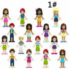 16PCS Girl friend princess ANDREA MIA OLIVIA doll building Minifigures block toy