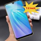 "Note 8 New 7.2"" Android 4gb Mobile Phone Unlocked Dual Sim Smartphone Tablet Gps"