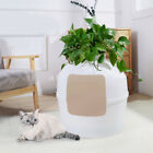 Cat Litter Tray Box Toilet Puppy Washroom Crate Cleaning House Large Enclosure