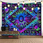 USA Colorful Mandala Tapestry Trippy Psychedelic Wall Hanging Home Wall Decor