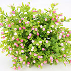 5 Heads Artificial Flower Milan Plants Plastic Small Flower Diy Home Party Decor