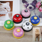 Pet training bell dog toys Puppy Pet Call Dog paw print ringer pet supplie TLE