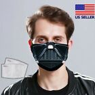 Darth Vader - Star Wars Face Mask 3D Vader Mask Fabric Washable (with filter) $18.95 USD on eBay