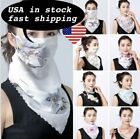 Women's Reusable Face Mask Cover Scarf Washable Summer Outdoor Sun Protection