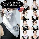Women's Face Mask Scarf Reusable Mouth Face Cover Outdoor Summer Protection