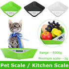 LCD Electronic Digital Baby Scale Newborn Pet Weighing 1G-5000G HD Display