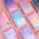 Twinkle Moonlight Diary A6 6 Holes Journal Planner Scheduler Notebook Organizer