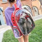 Cat Carrier Bag 4 Color Breathable Transparent Puppy Backpack Carrier For Dogs